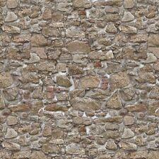 Miniatura Per Casa Delle Bambole Luminoso Formato Misto Ruvido Grano Stone Carta