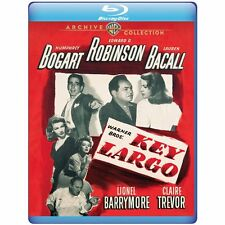 KEY LARGO (1948 Bogart & Bacall) -  Blu Ray - Sealed Region free