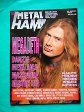 ►Polish magazine Metal Hammer 92 Dave Ellefson Megadeth Trouble Shooters Queen