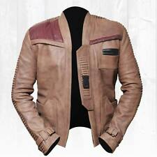 Best Offer - Finn Star Wars Poe Dameron John Boyega Genuine Leather Jacket