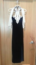 Let's Fashion Brand - Blue Evening Dress - SIZE S - Tagged USA