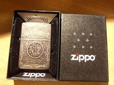 Zippo Lighter Jack Daniels Grey Dusk Old No 7 model Brand New in case