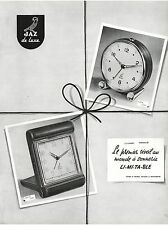 ▬► PUBLICITE ADVERTISING AD Montre Watch JAZ de luxe Sapic Balic 1954