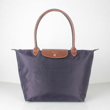 Longchamp Le Pliage Deep Purple Tote Bag L