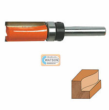 "1/4"" inch Shank Template Cutter Router Bit TCT 5/8 x 3/4 x 5/8 Twin Fluted"