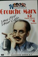 Groucho Marx: You Bet Your Life - 12 Classic Shows (DVD, 2003)