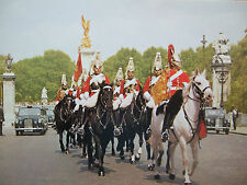 VINTAGE MILITARY POSTCARD- THE ROYAL HORSE GUARDS