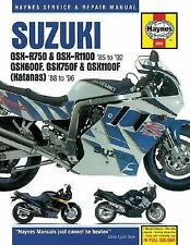 Suzuki GSX-R and Katana GSX-F: Service and Repair Manual (Haynes Manuals), John