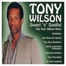 Tony Wilson Sweet 'N' Soulful CD NEW SEALED Soul Hot Chocolate/Moving Emotion..