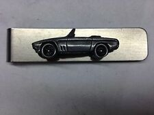 Reliant SS1 ref200 pewter effect car on a stainless steel money clip