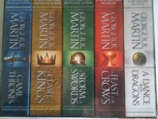 GAME OF THRONES Song of Fire and Ice Box Set G.Martin New Mass Mkt Format