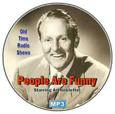 Art Linkletter's - People Are Funny - 30 Old time Radio Shows Mp3 DVD CD