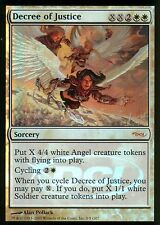 Decree of Justice FOIL | NM | Judge Rewards Promos | Magic MTG