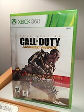 @ GOLD EDITION @ CALL OF DUTY ~ ADVANCED WARFARE  4 XBOX 360 ~ MAPS, FREE SHIP!!