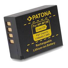 Batteria NP-W126 per FujiFilm FinePix X-T10 X-A1 X-E1 X-E2 X-M1 X-Pro1 X-T1 X-A2