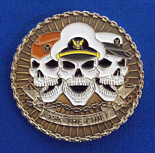 """US Navy Chief Petty Officer 1893 """"Ask the Chief"""" USN CPO Compass Challenge Coin"""
