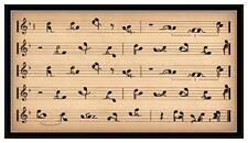 Fridge Magnet: SEXY NOTES - Musical Notes In Kama Sutra Positions