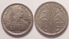 Indochine, 10 Cent 1939, SUP !!