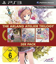 The Atelier Arland Trilogy (Sony PlayStation 3, 2015, DVD-Box)