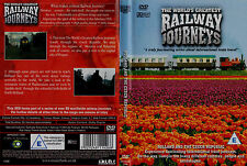 The Worlds Greatest Railway Journeys. Holland and the Czech Republic. New DVD