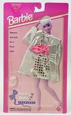 BARBIE FANCY DATE FASHIONS SILVER ENSEMBLE NRFB