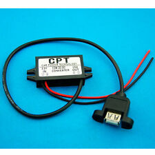 Car Charge DC Converter Module 12V To 5V Micro USB Output Power Adapter 3A 15W S