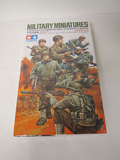 TAMIYA US INFANTRY WEST EUROPEAN THEATER IN 1/35 SCALE