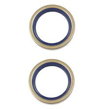 Mercedes W140 Wheel Bearing Seal Set of 2 Front OEM CORTECO-CFW 0179973947
