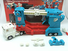 VINTAGE 1985 TRANSFORMERS G1 ULTRA MAGNUS RARE RUBBER TYRE METAL FEET VERSION