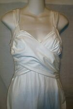 Victorias Secret Bra Top Wrap Front Dress in WHITE in Size SMALL