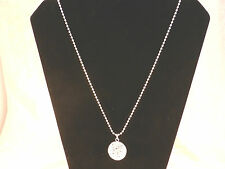 Intricate Silver Plated Hollow Ball Necklace with Free Gift Bag