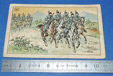 CHROMO 1914-1918 ECOLE BON-POINT F. NATHAN 2e S DRAGONS ITALIE PEKA KAUFFMANN