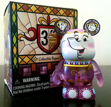 "DISNEY VINYLMATION 3"" BEAUTY AND THE BEAST MRS POTTS TEA POT COLLECTIBLE TOY"