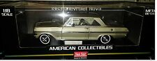 1963 CHEVY NOVA HARD TOP Diecast Car 9 inch SUN STAR 1:18 AMERICAN SS3967 GREEN