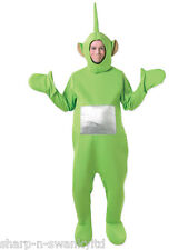 Uomo Donna verde DIPSY TELETUBBY TELETUBBIES Stag Do Fancy Dress Costume Outfit