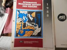 Ford 1988 Automotive Measuring Devices and Systems Manual