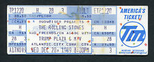 1989 Rolling Stones John Lee Hooker Axl Rose unused concert ticket Steel Wheels
