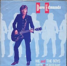 "DAVE EDMUNDS me and the boys/Queen of hearts live ARIST 471 uk 7"" PS EX/VG"