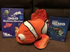 Disney Finding Nemo - Bundle Lot - DVD, Nemo Plush Toy & 365 Bedtime Story Book