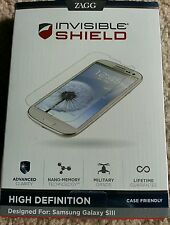 Zagg Invisible Shield HD High Definition Samsung Galaxy SIII S3 * Brand New *