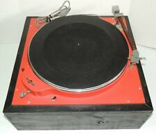 "Collins Model 400S 16"" Broadcast Commercial Transcription Turntable Rim Drive"
