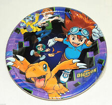 NEW   DIGIMON  8-DESSERT PLATES    PARTY SUPPLIES