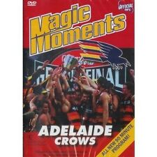 ADELAIDE CROWS MAGIC MOMENTS (AFL  DvD 90 Mins) region 0 = All regions