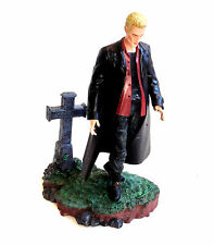 BUFFY Vampire Slayer  SPIKE (human face) action figure toy with stand NICE!