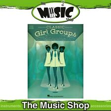 New Classic Girl Groups PVG Music Book - Piano, Vocal, Guitar - 50 Songs!