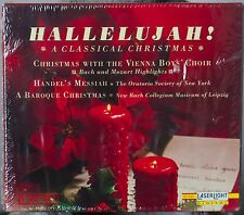Hallelujah! A Classical Christmas Vienna Boys Choir Handel's Messiah 3cd box set
