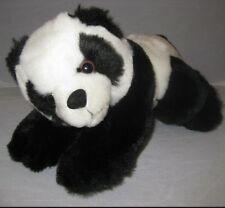 Panda Bear Plush Teddy Stuffed Animal Toy Nanco 7P3 Black White Lovey Cuddly