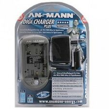 Ansmann Digicharger plus Universalladegerät Digicam Digitalkameras Camcorder