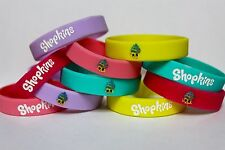 FIVE 5 SHOPKINS Party Bracelets CUPCAKE QUEEN Favors Supplies