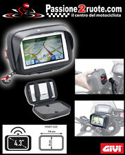 support for gps sat nav galaxy s2 II 5inch givi s954 tubular